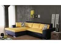 Delivery 1-3 days Corner Sofa Bed Sofa Corner LORETO Brand New Packed Function and Storage