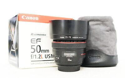 # Canon EF 50mm f/1.2 L USM Lens 50.2 S/N 6801984 (UE)