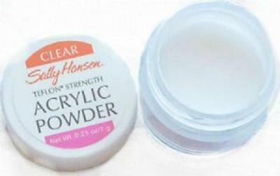 2 x SALLY HANSEN Acrylic Powder Pots 7g each - NEW