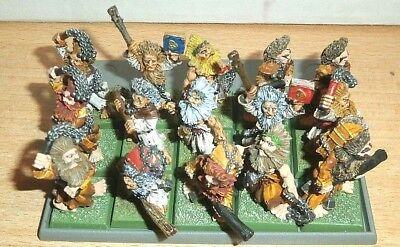 15 PRO PAINTED Flagellant - Empire - Metal - OOP - Warhammer Age Of Sigmar
