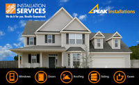 Eaves, Siding, Soffit, Fascia Installation Crews – London