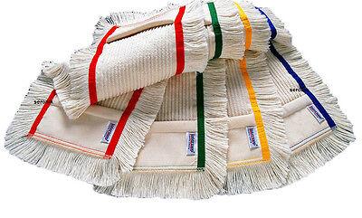 5x Mop Mocio Cotone Spazzolone Mop Scopa a Frange Cotone Fodera-Lavaggio 50cm