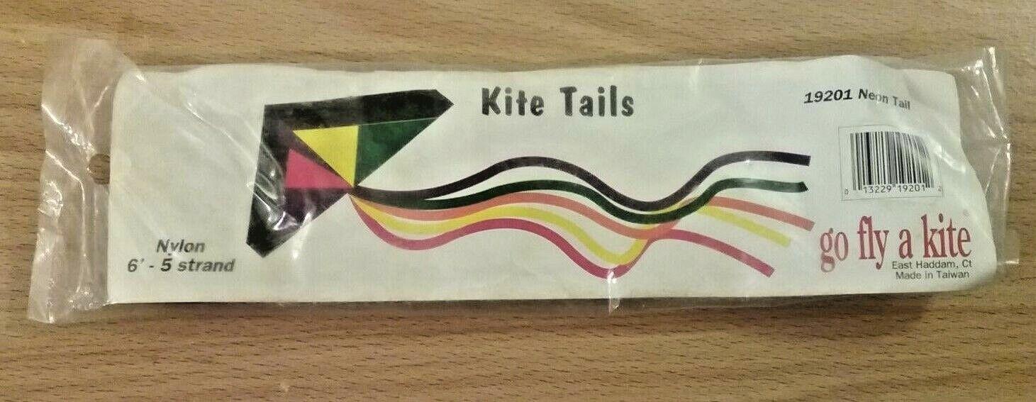 pack of neon kite tails nylon 6