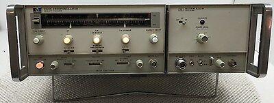 Agilent Hp  Hp 8620c Sweep Oscillator W 86222a .01 - 2.4 Ghz