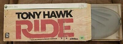 Tony Hawk Ride Licensed for Xbox 360 Game and Wireless Skateboard Controller