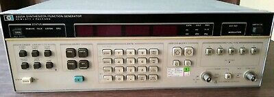 3325a Hp Agilent Synthesizer Function Generator