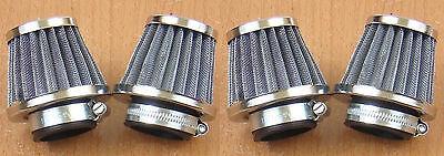 Kawasaki KZ550A KZ650 KZ650B KZ650C KZ650D KZ650F 4 Chrome Air Filter 39mm