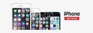 iPhone repairs parts and services in Mississauga Oakville Burli