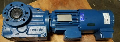 NEW SEW EURODRIVE GEAR REDUCER / KAZ67DRE80M4/TF/V  1 HP  90.04:1 RATIO