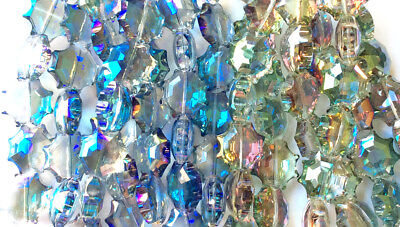 Crystal Sun 6 Pointed Rounded Star 17 5Mm Chinese Crystal Glass Bead Q2 Strands