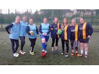 WOMENS 5 A SIDE FOOTBALL
