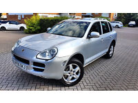 PORSCHE CAYENNE S 4.5 TIPTRONIC S AWD, SUNROOF, SAT NAV, XENON LIGHTS MOT, ALLOYS, Px