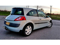 Beautiful Renault Megane 1.4 Petrol, Service History, Long MOT, 2 Keys, Alloys, Low Milage PX