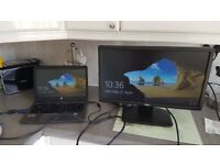 """Monitor Dell E2213HB 1680 x 1050Resolution 22"""" WideScreen LCD Flat Panel Computer Monitor with Stand"""