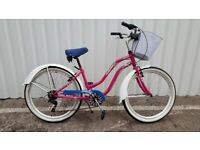 Ladies Aloha Retro Bicycle
