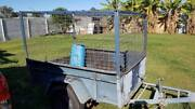 BOX TRAILER WITH CAGED SIDES Deception Bay Caboolture Area Preview