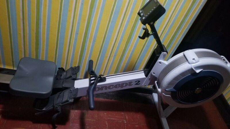 Rowing machine Concept 2 PM3