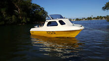 PRIDE 13ft 1/2 CABIN SKI/FISHING/FAMILY BOAT 50HP YAMAHA+ TRAILER Burleigh Waters Gold Coast South Preview