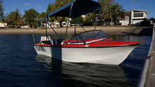 13ft Fibreglass family Boat, 40hp Motor. Trailer. Fun ski/fishing Burleigh Waters Gold Coast South Preview