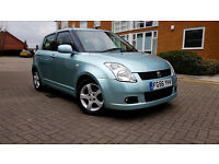 Suzuki Swift 1.5 Manual 5 Door Hatch back 1 year MOT Low Mileage Cheap insurance