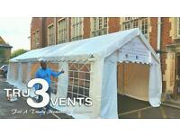 MARQUEE/GAZEBO HIRE WITH **FREE CHAIRS & TABLE**