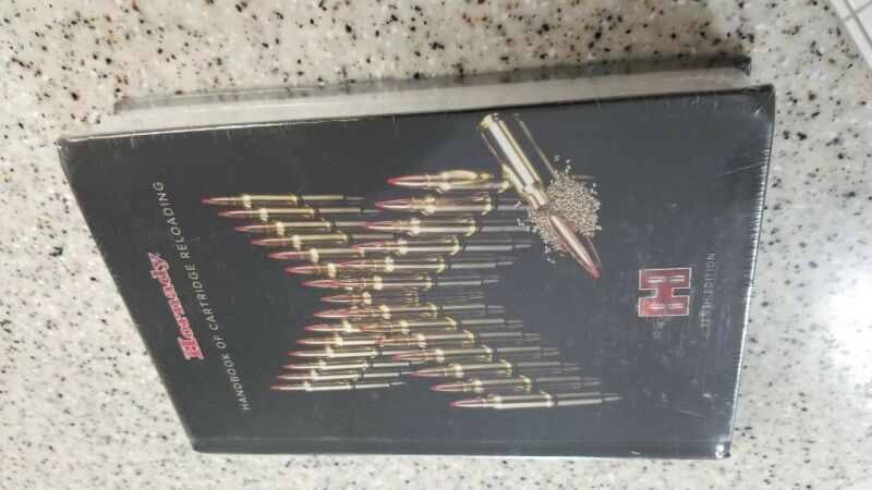 """Hornady 99240 Reloading Manual 10th Edition, Hard Cover """"Sealed"""""""