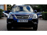 SUPERB BLUE HONDA CRV 2004 Alloys LONG MOT, SUNROOF, Px
