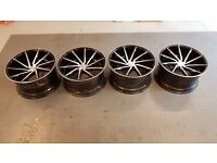 "20"" Vossen CVT Alloy wheels with Brand New Eagle F1 tyres came off Audi RS4 B8"