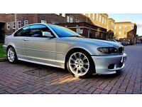 BMW 3 SERIES 325Ci M SPORT COUPE ALLOYS PARKING SENSORS LEATHERS LONG MOT PX