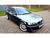 BMW 3 SERIES 2.0 320D M SPORT DIESEL ALLOYS REAR SPOILER CALLIPERS LEATHERS PX
