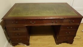 Excellent Reproduction Writing Table For Sale