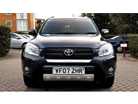 Grey Toyota RAV 4 DIESEL XTR D-4D LOW MILEAGE 5 DOOR Alloys FSH 1 PREVIOUS OWNER PX