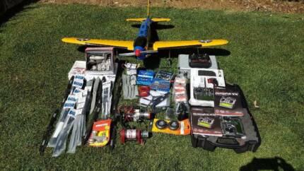 Model Aircraft - Fairchild PT-19 plus many Accessories