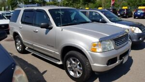 2005 Ford Explorer LIMITED 7 PASS 4X4 CUIR TOIT MAGS TOUTE EQUIP
