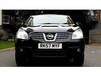 2008 Nissan Qashqai 1.6 Tekna 2WD Petrol 5dr, Leather Seats,Pan Roof,HPI Clear