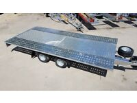 DELIVERY Car Transport M4027 400x200cm 2700kg TWIN AXLES Car Trailer