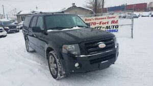 2008 Ford Expedition Max Limited AWD Leather Sunroof Heated Seat