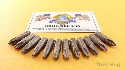 Drill Hog® #2 Phillips Insert Bit Screw 1/4