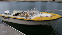 5m offshore/fishing/ski/family boat 135 EVINRUDE. Great trailer Burleigh Heads Gold Coast South Preview