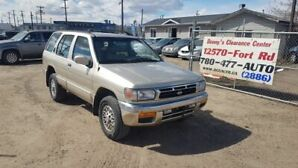 1998 Nissan Pathfinder LE Full Load LOW KMs