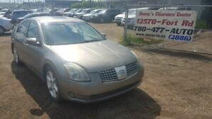 2006 Nissan Maxima SE Only 129 KMs  Easy Finance!!