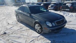 2005 Mercedes Benz E-Class 4MATIC Luxury Leather Sunroof Heated