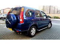 BLUE HONDA CR-V 2.0 i-VTEC SE SPORT SUNROOF SIDE STEPS LEATHERS ALLOYS FSH CRVPX