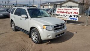 2009 Ford Escape Limited AWD LEATHER SEATS