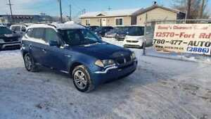 2004 BMW X3 3.0L V6 AWD Leather Pano Roof Heated Seats!