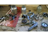 Collection of Spray Gun parts