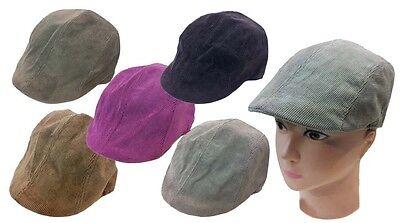 Kids IVY Newsboy Duckbill Cabbie Children Boy Girl Corduroy Fabric Ivy Hat Cap (Kids Newsboy Hat)