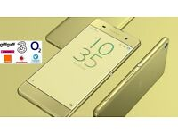 SONY Xperia XA Smart Phone - 16GB - Lime GOLD - SIM FREE