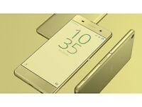 SONY Xperia XA Smart Phone - 16GB - O2/Giffgaf/Tesco - Lime GOLD