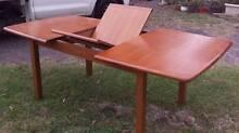 Retro wooden extendable family dining table Llandilo Penrith Area Preview